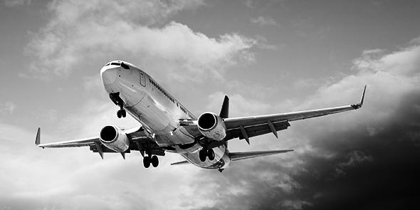Melanon-Risiko bei Piloten und Flugbegleitern