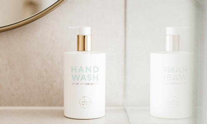 Bildmaterial Hand Wash   Fles