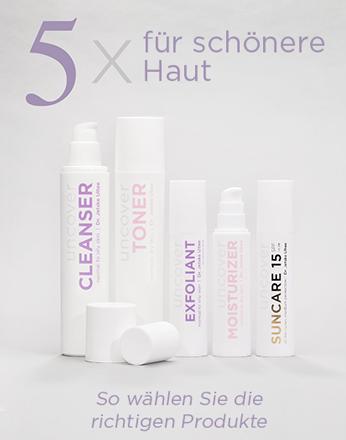 Uncover-skincare.de: Gesichtspflege für jeden Hauttyp kaufen